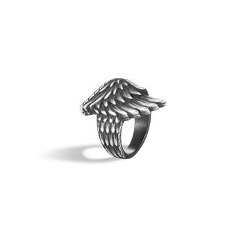 Legends Eagle Ring in Silver