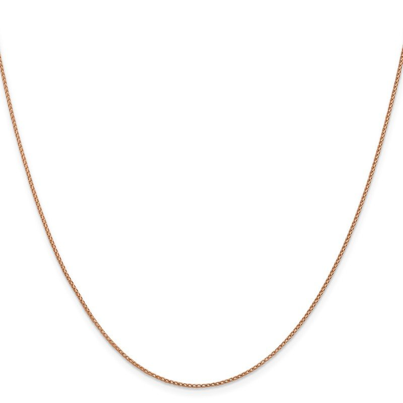 Leslie's Leslie's 14K Rose Gold .95 mm D/C Open Franco Chain