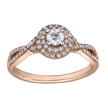 I am Canadian™ Diamond Ladies Engagement Ring