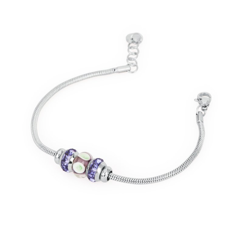 Brosway 316L stainless steel, coloured glass and coloured Swarovski® Elements crystals.