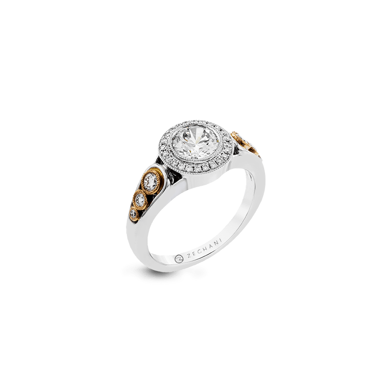 Zeghani ZR1421 ENGAGEMENT RING