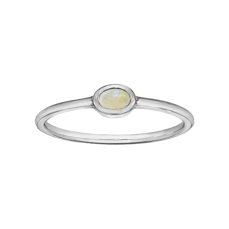 Lasting Treasures Opal Ladies Ring