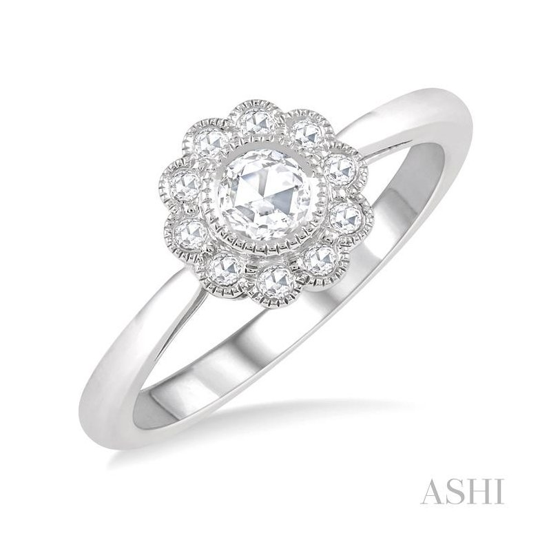Crocker's Collection rose cut diamond ring