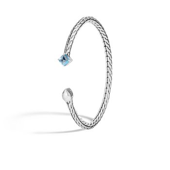 Legends Naga 3.5MM Station Bracelet in Silver