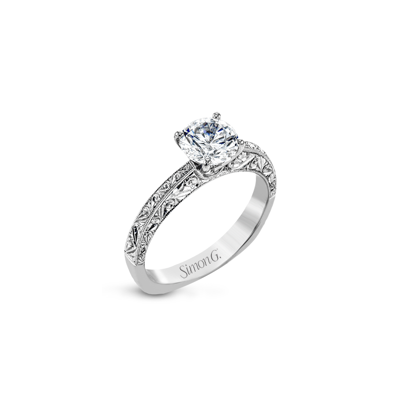 Simon G MR2965 ENGAGEMENT RING