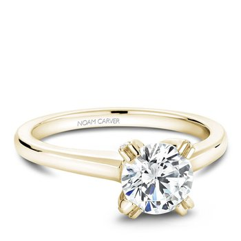 Noam Carver Modern Engagement Ring B002-02YA