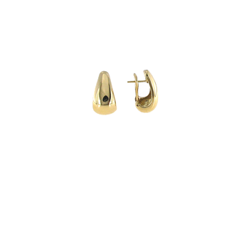 18Kt Yellow Gold Tear Drop Earrings