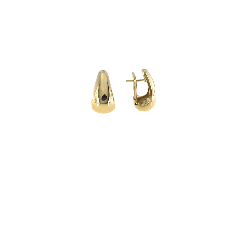 Roberto Coin 18KT YELLOW GOLD TEAR DROP EARRINGS