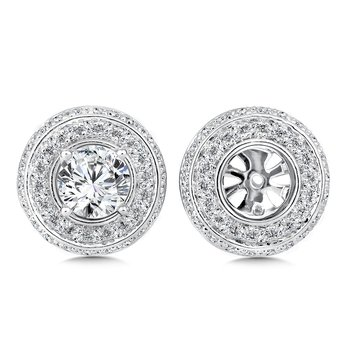 Diamond Earing Jacket ( .73 tw )