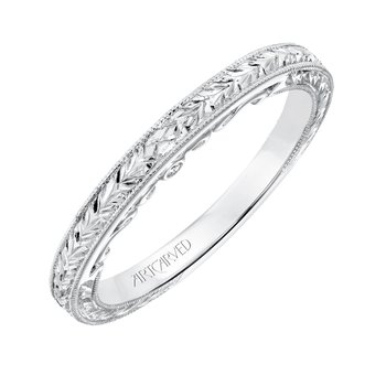 ArtCarved Iva Wedding Band