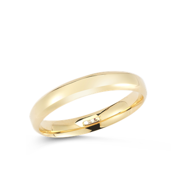 18Kt Gold Wide Classic Bangle