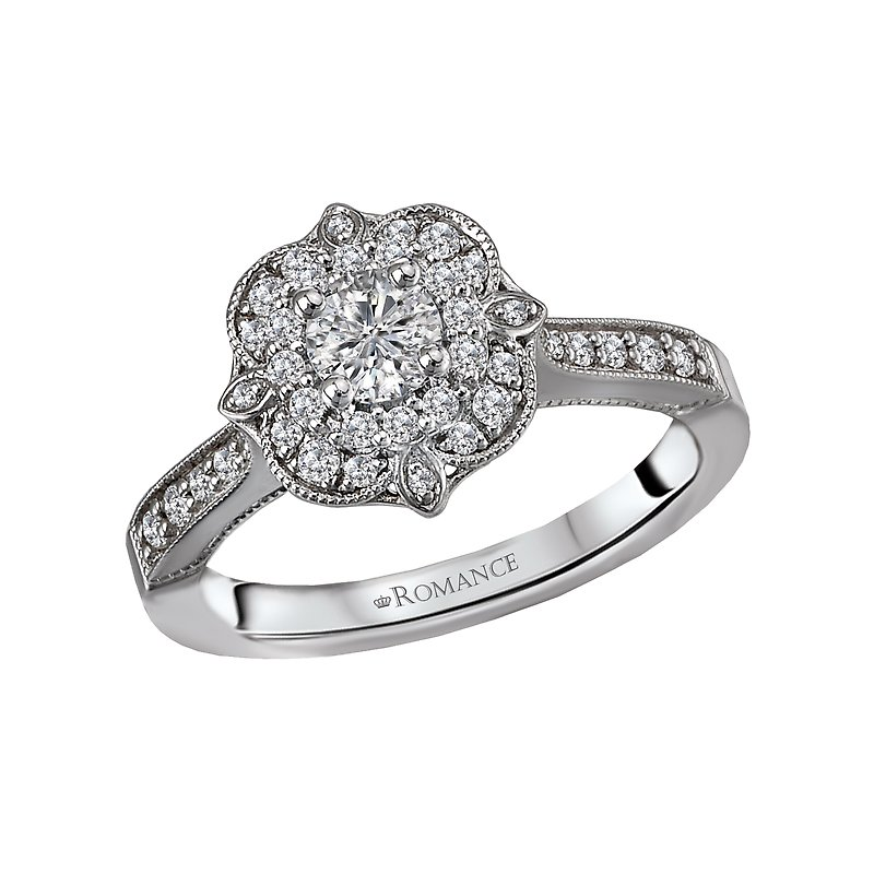 Romance Vintage Diamond Ring
