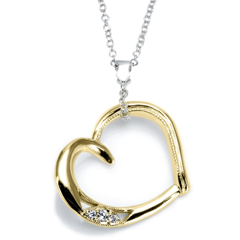 Tacori Open Heart Pendant Necklace