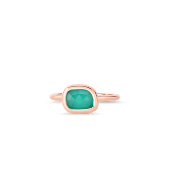 Ring With Agate &Ndash; 6.5