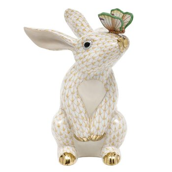 Bunny with Butterfly - Butterscotch