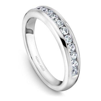 Noam Carver Wedding Band B037-02B