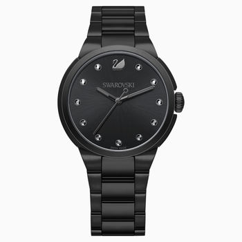 City Watch, Metal bracelet, Black, Black tone