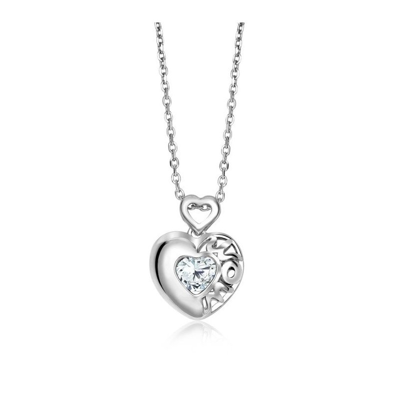 LARUS Jewelry Mom Heart Pendant