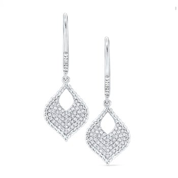 14K Diamond Diamond Fashion Earrings
