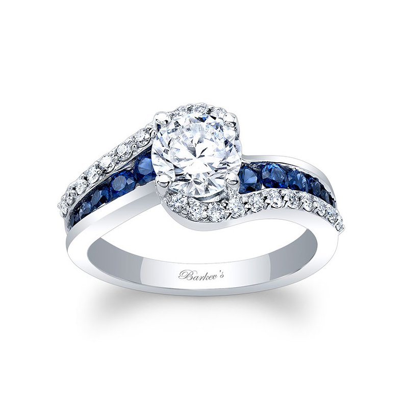 Barkev's Sapphire Engagement Ring