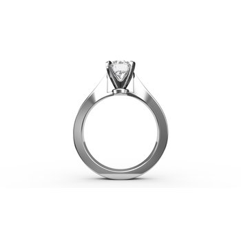 Engraved Solitaire Eng Ring