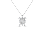 Roberto Coin 18Kt Gold Diamond Turtle Pendant