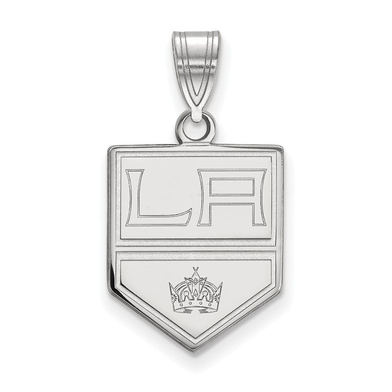 NHL Sterling Silver Los Angeles Kings NHL Pendant
