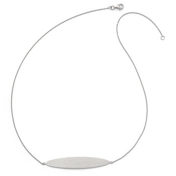 Leslie's Sterling Silver Radiant Essence Necklace