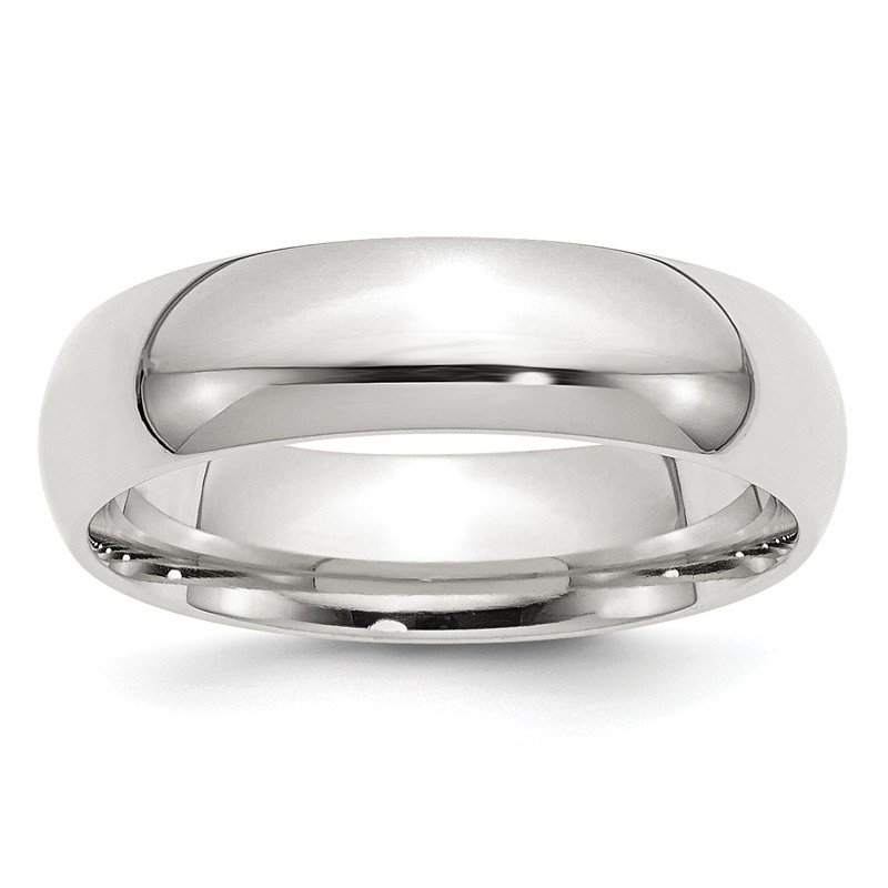Quality Gold Sterling Silver 6mm Comfort Fit Band
