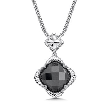 Sterling Silver Hematite Pendant