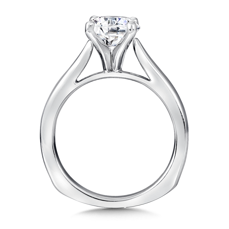 Valina Solitaire mounting .01 tw., 1 1/2 ct. round center.