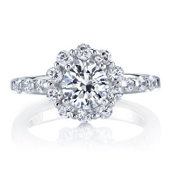 25593 Diamond Engagement Ring 0.77 ctw