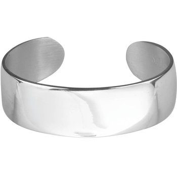 "¾"" Plain Pewter Bracelet"