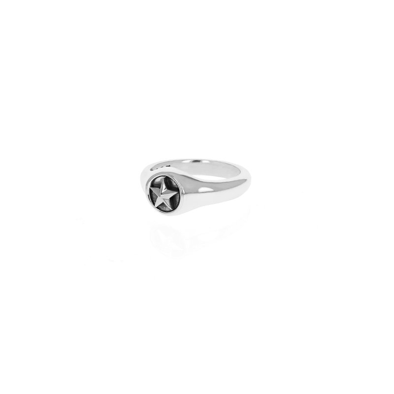 King Baby Small Star Motif Ring