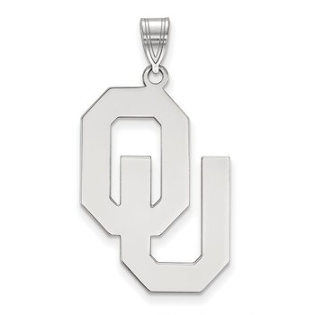 Gold University of Oklahoma NCAA Pendant