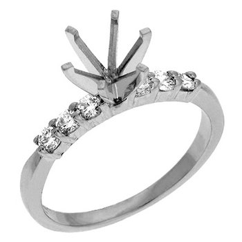 Engagement Ring Shared Prong