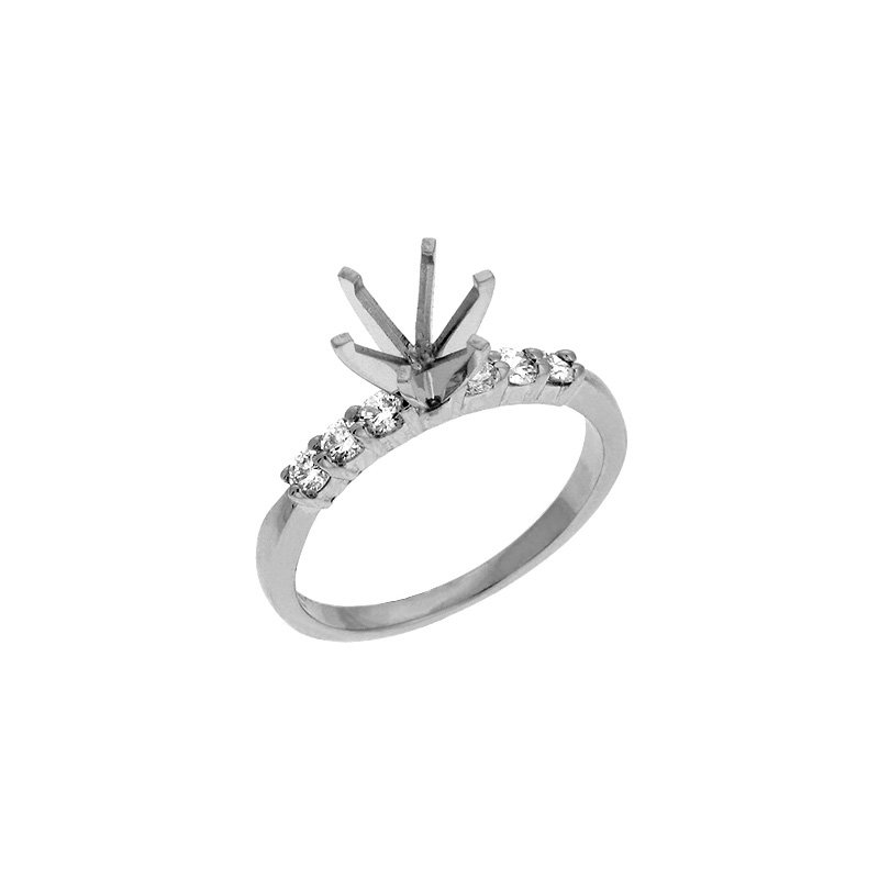 S. Kashi & Sons Bridal Engagement Ring Shared Prong