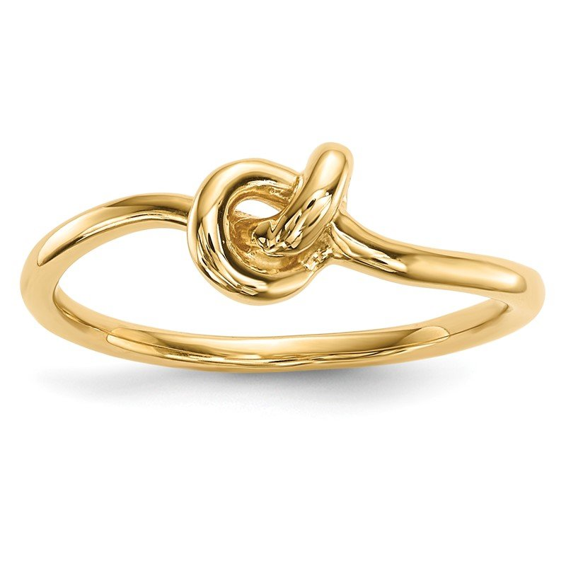 Quality Gold 14k Polished Knot Ring