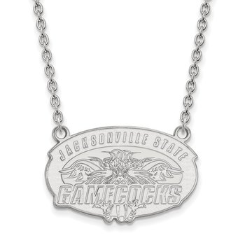 Sterling Silver Jacksonville State University NCAA Necklace