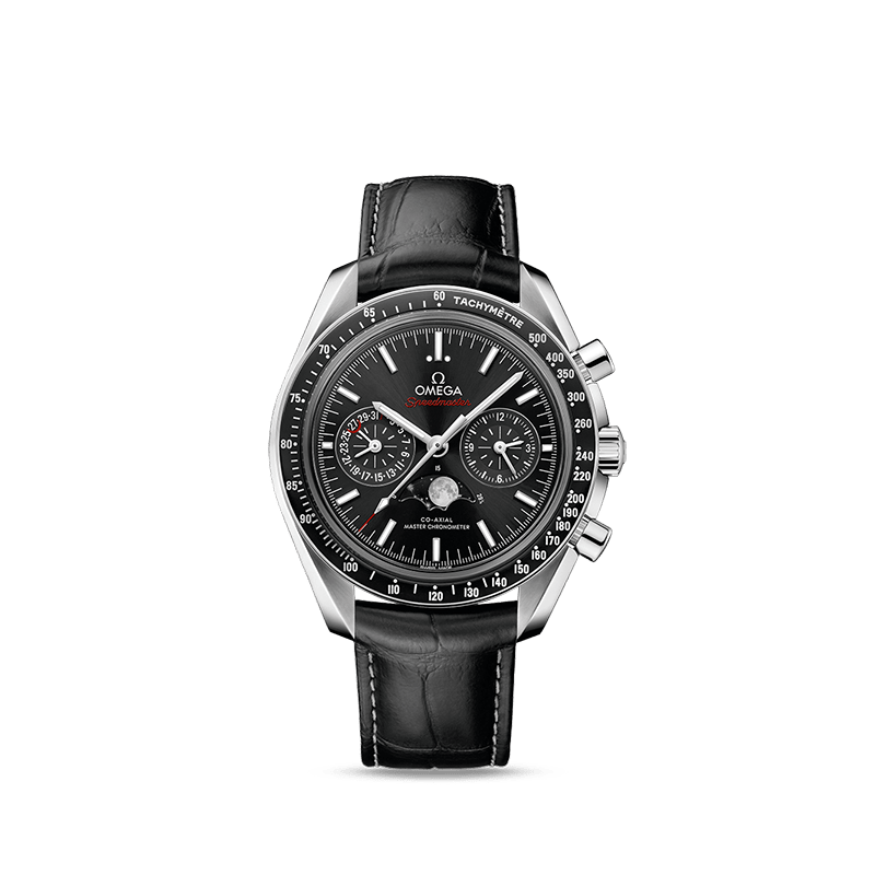 OMEGA Speedmaster Moonwatch Omega Co-Axial Master Chronometer Moonphase Chronograph 44.25 mm