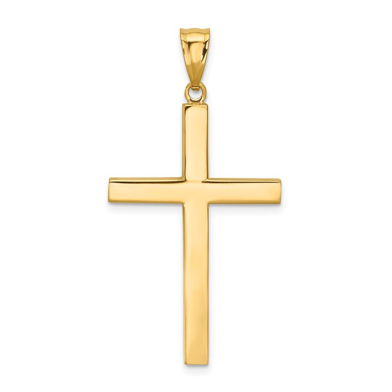 Quality Gold 14K Latin Cross Pendant