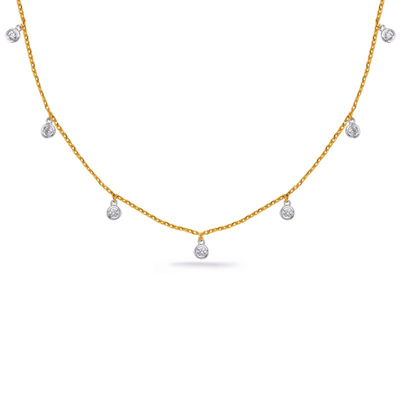 S. Kashi  & Sons White & Yellow Gold DIamonds By The Yard