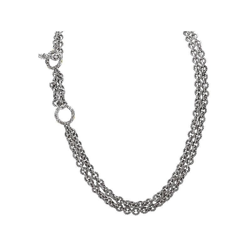 Eleganza Sterling Silver Cable Chain