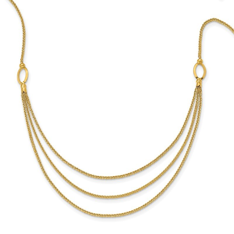 Quality Gold 14K Fancy Necklace