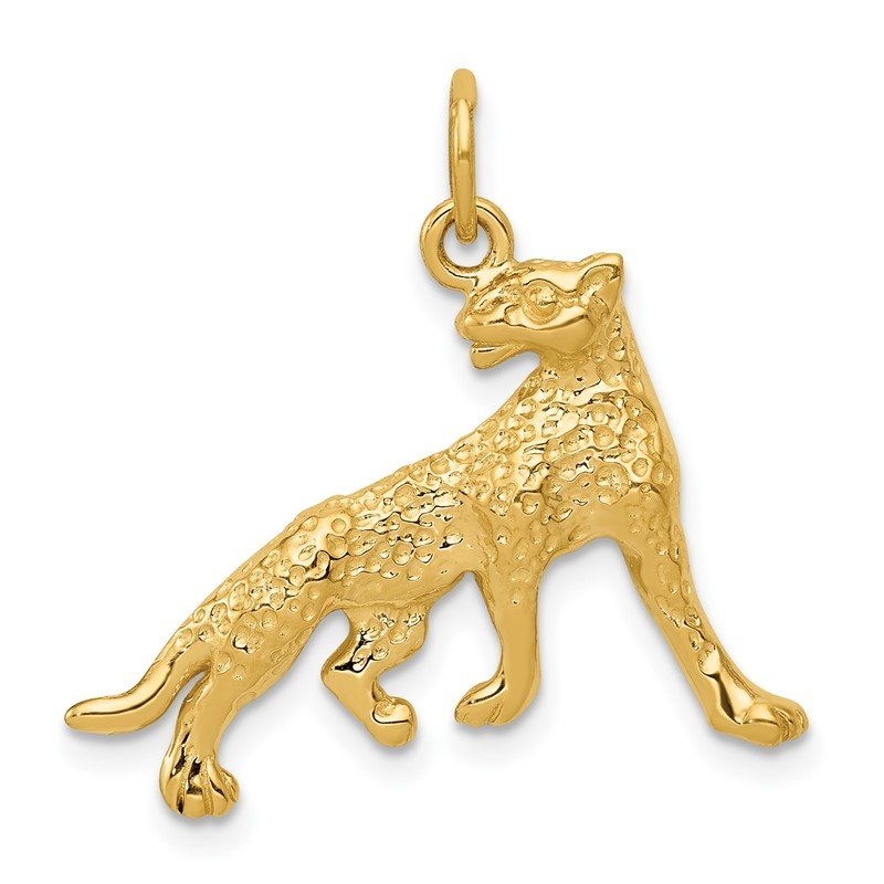 Quality Gold 14k Cheetah Charm