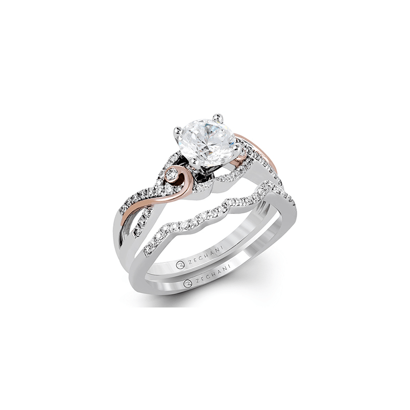 Zeghani ZR1198 WEDDING SET