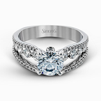 Simon G MR2248 ENGAGEMENT RING