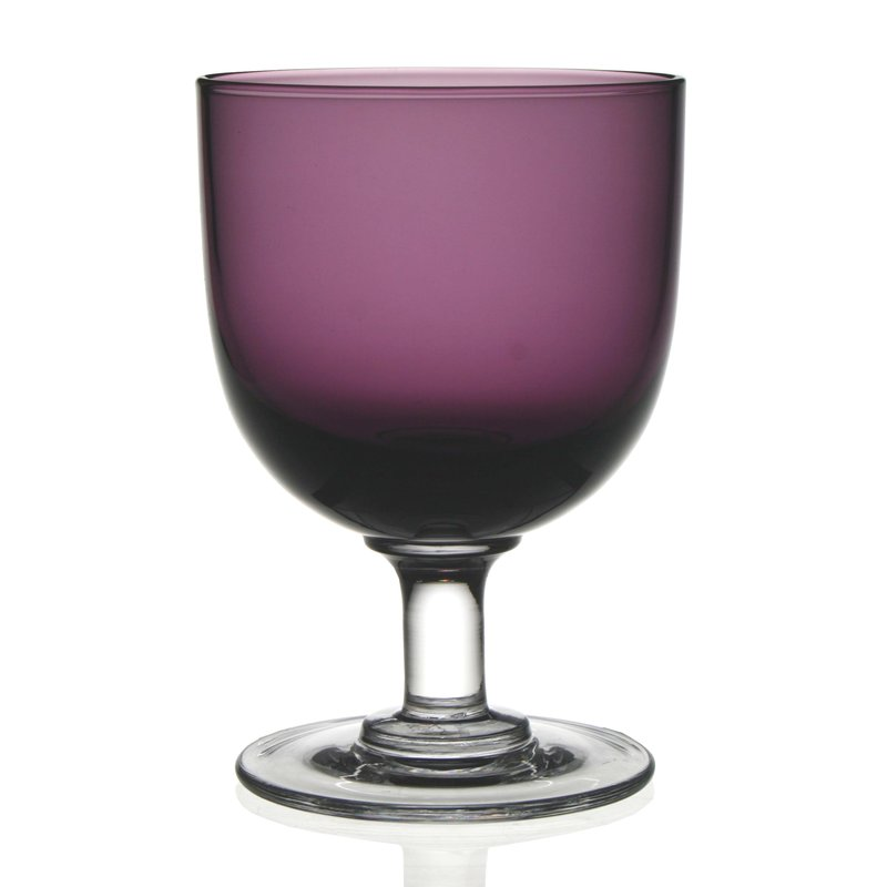 William Yeoward Maggie Goblet Amethyst