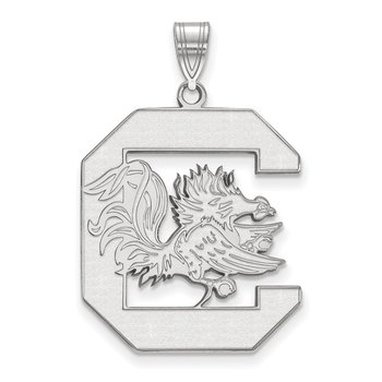 Sterling Silver University of South Carolina NCAA Pendant