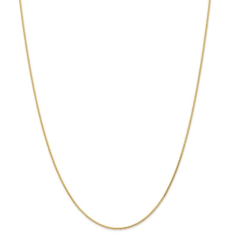 Leslie's Leslie's 14k 1.0mm Diamond-cut Wheat Chain